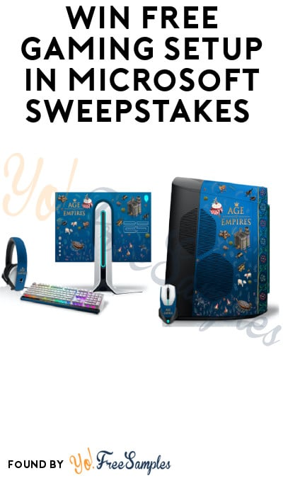 Win FREE Gaming Setup in Microsoft Sweepstakes (Account Required)