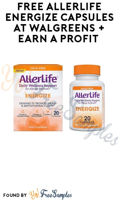 FREE Allerlife Energize Capsules at Walgreens + Earn A Profit (Account & Shopkick Required)