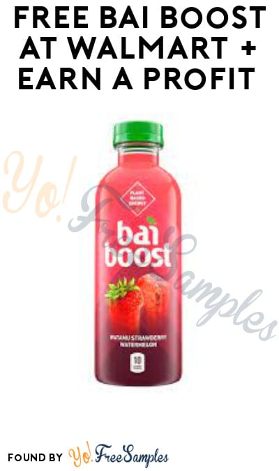 FREE Bai Boost at Walmart + Earn A Profit (Ibotta Required)