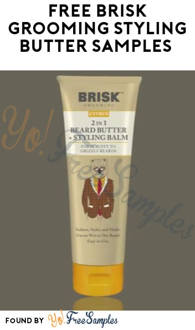 FREE Brisk Grooming Styling Butter Samples (Facebook Required)