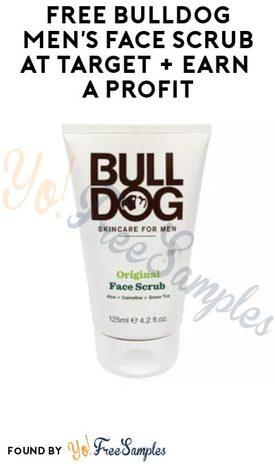 FREE Bulldog Men's Face Scrub at Target + Earn A Profit (In-Stores Only, Target Circle & Ibotta Required)