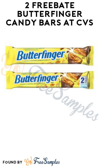 2 FREEBATE Butterfinger Candy Bars at CVS (Account & Checkout51 Required)