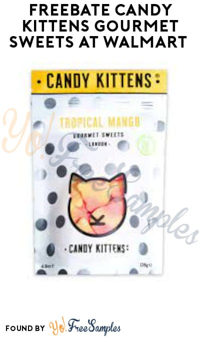 FREEBATE Candy Kittens Gourmet Sweets at Walmart (Ibotta Required)