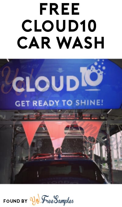 FREE Cloud10 Car Wash (Text/Coupon Required + Select States Only)