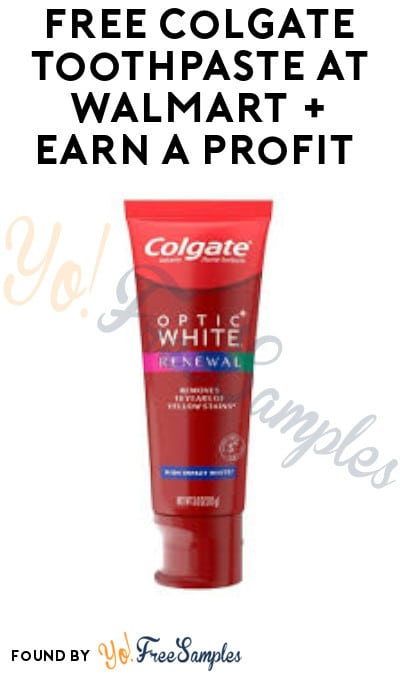 FREE Colgate GUM Toothpaste at Walmart + Earn A Profit (Coupon, Ibotta & Shopkick Required)