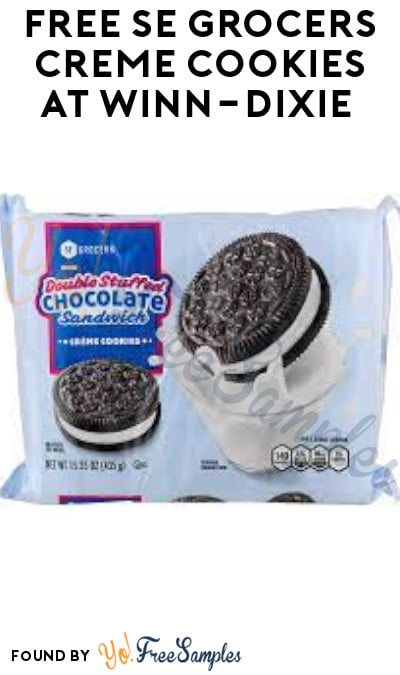 FREE SE Grocers Creme Cookies at Winn-Dixie (Account/ Coupon Required)