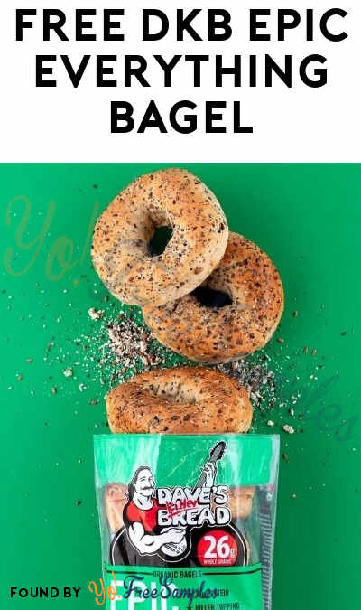 FREE DKB Epic Everything Bagel