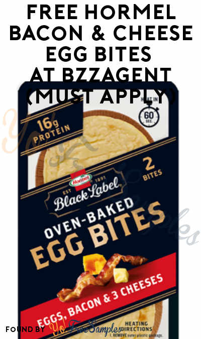 FREE Hormel Bacon & Cheese Egg Bites At BzzAgent (Must Apply)