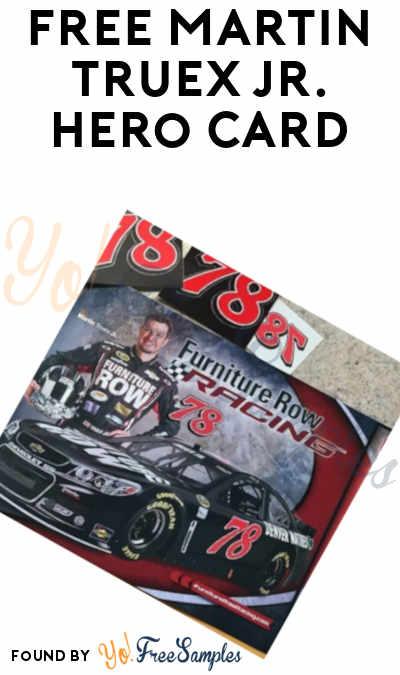 FREE Martin Truex Jr. Hero Card