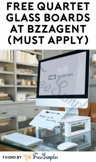 FREE Quartet Glass Boards At BzzAgent (Must Apply)