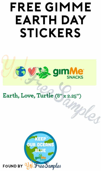 FREE gimMe Earth Day Stickers