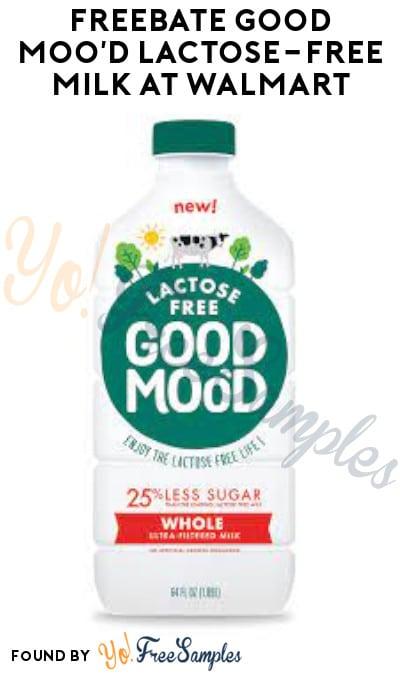 FREEBATE Good Moo'd Lactose-Free Milk at Walmart (Ibotta Required)