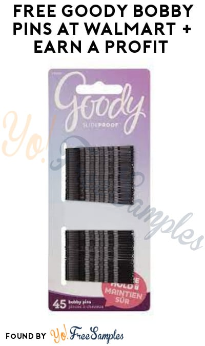 FREE Goody Bobby Pins at Walmart + Earn A Profit (Shopkick Required)