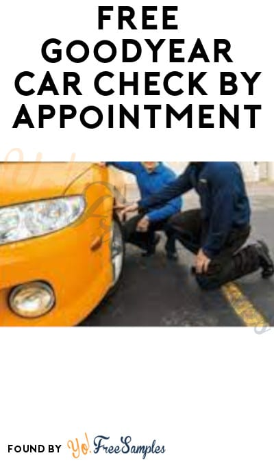 FREE Goodyear Car Check by Appointment