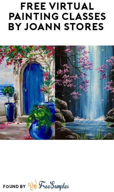 FREE Virtual Painting Classes by JOANN Stores