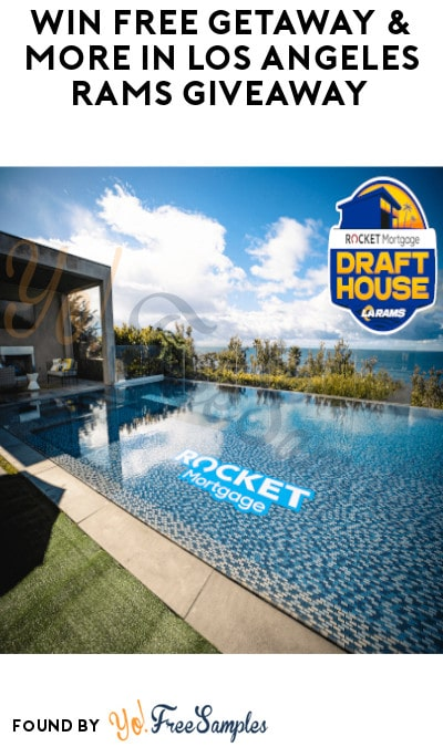 Win FREE Getaway & More in Los Angeles Rams Giveaway (Ages 21 & Older Only)