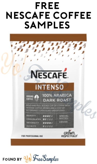 FREE Nescafe Coffee Samples (Facebook Required)