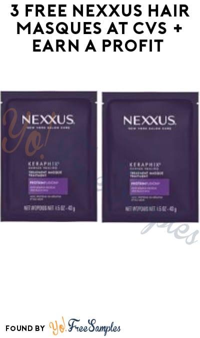 3 FREE Nexxus Hair Masques at CVS + Earn A Profit (Account Required)