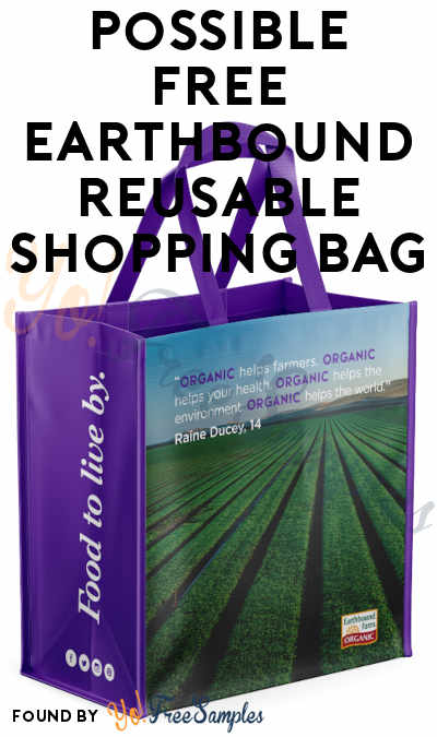 Possible FREE Earthbound Reusable Shopping Bag