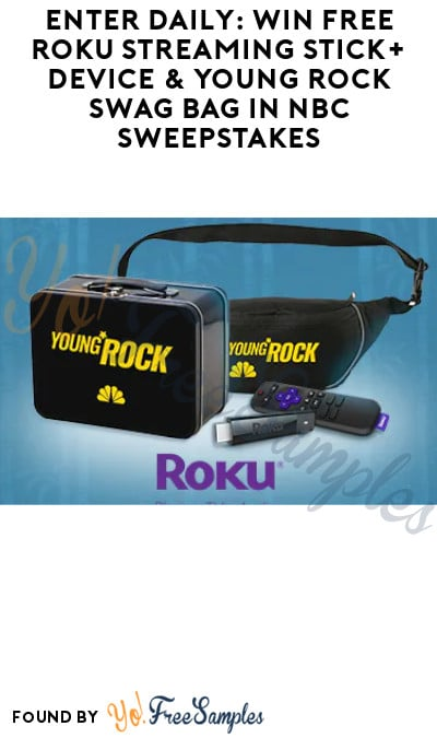 Enter Daily: Win FREE Roku Streaming Device & Young Rock Swag Pack in CBN Sweepstakes