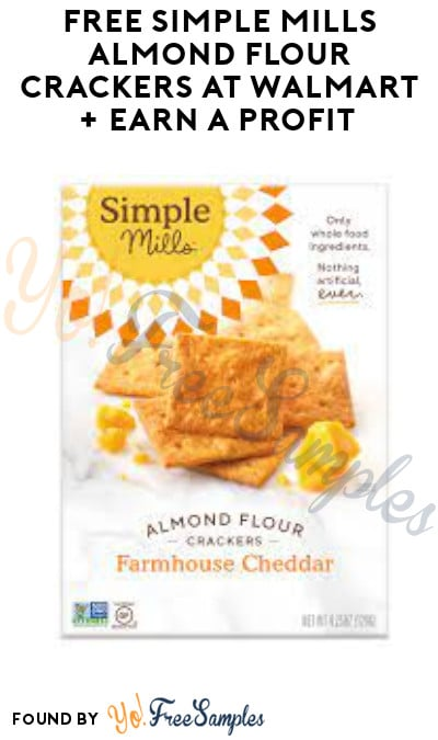 FREE Simple Mills Almond Flour Crackers at Walmart + Earn A Profit (Ibotta Required)