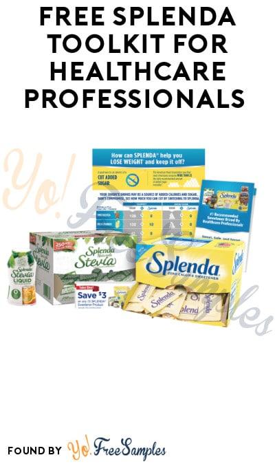 FREE Splenda Toolkit for Healthcare Professionals