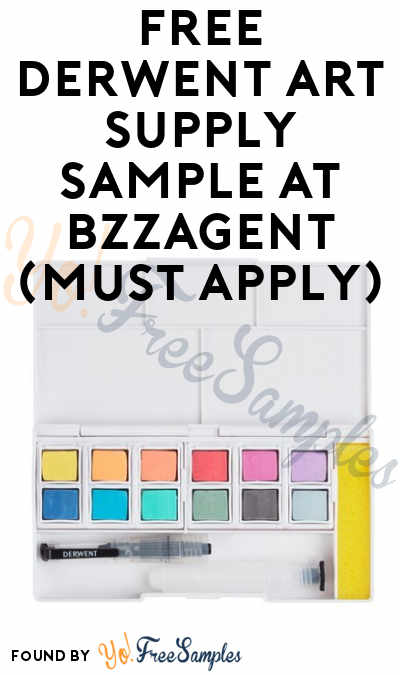 FREE Derwent Art Supply Sample At BzzAgent (Must Apply)