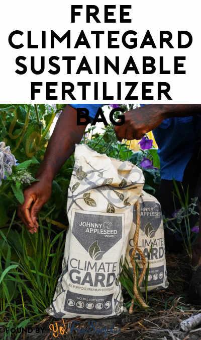 FREE ClimateGard Sustainable Fertilizer Bag