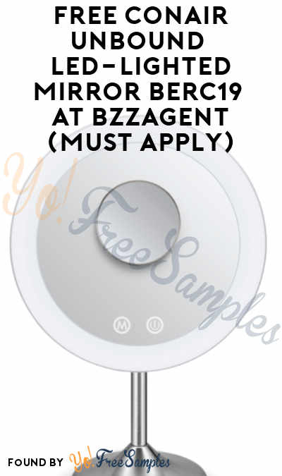 FREE Conair Unbound Led-Lighted Mirror BERC19 At BzzAgent (Must Apply)