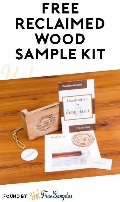 FREE Reclaimed Wood Sample Kit