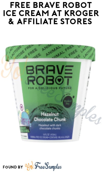 FREE Brave Robot Ice Cream at Kroger & Affiliate Stores (Account/ Coupon Required)