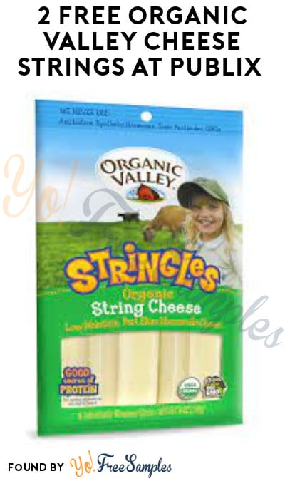 2 FREE Organic Valley Cheese Strings at Publix (Coupon Required)