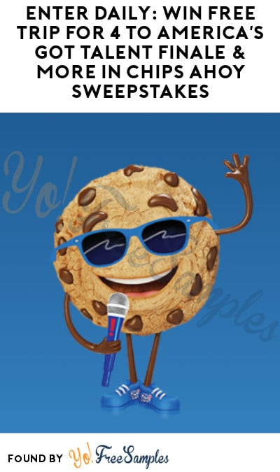 Enter Daily: Win FREE Trip for 4 to America's Got Talent Finale & More in Chips Ahoy Sweepstakes