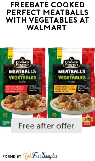FREEBATE Cooked Perfect Meatballs with Vegetables at Walmart (Ibotta Required)