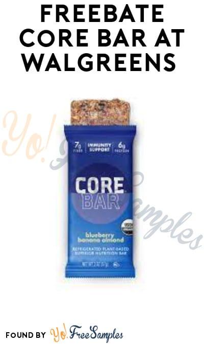 FREEBATE Core Bar at Walgreens (Ibotta Required)