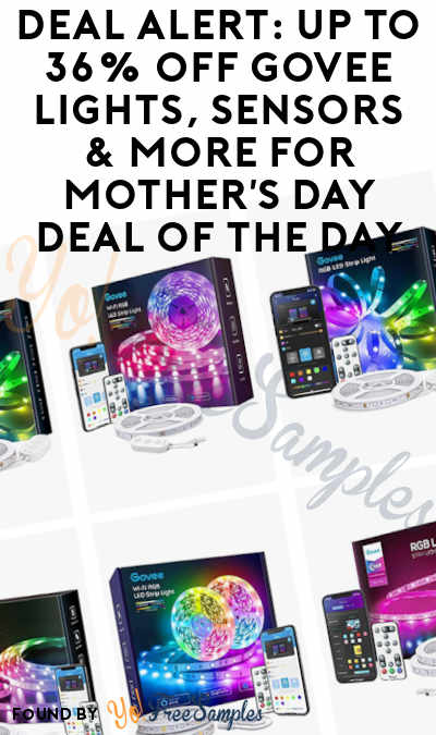 DEAL ALERT: Up to 36% Off Govee Lights, Sensors & More For Mother's Day Deal of the Day