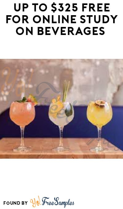 Up to $325 FREE for Online Study on Beverages (Must Apply)
