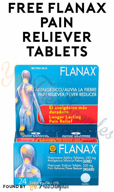 FREE Flanax Pain Reliever Tablets