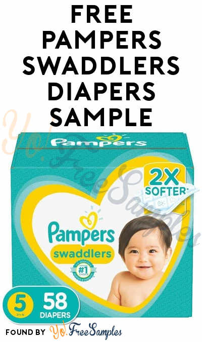 FREE Pampers Swaddlers Diapers Sample