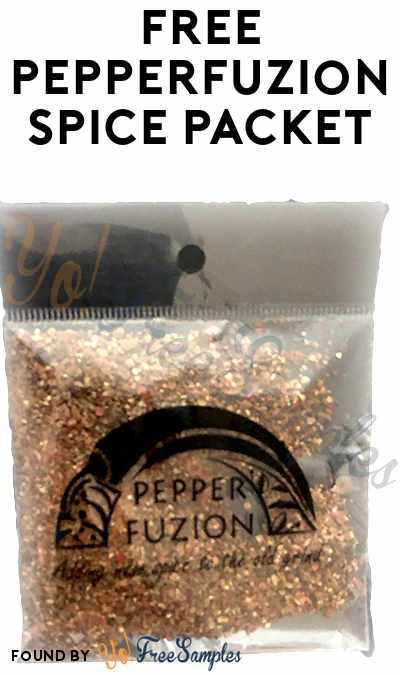 FREE PepperFuzion Spice Packet