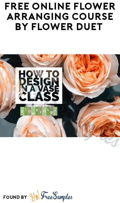 FREE Online Flower Arranging Course by Flower Duet
