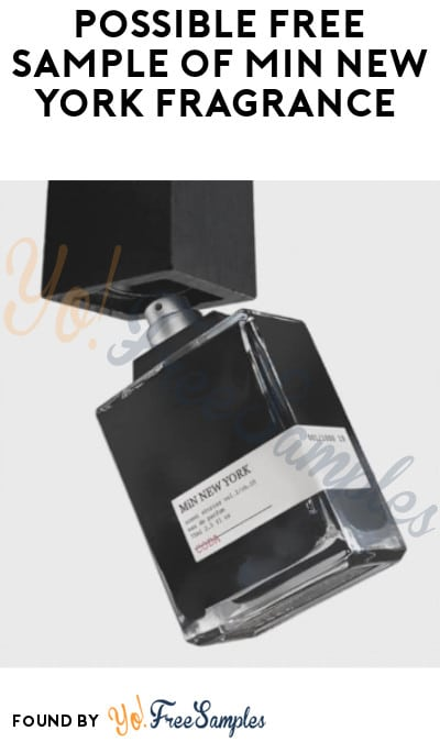 Possible FREE Sample of MiN New York Fragrance (Facebook Required)