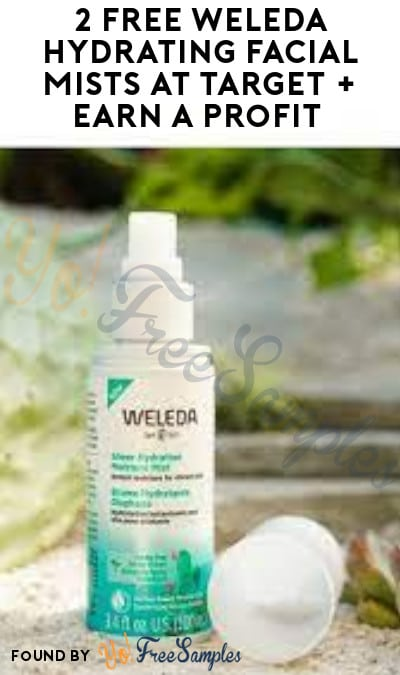 2 FREE Weleda Hydrating Facial Mists at Target + Earn A Profit (Target Circle & Ibotta Required)