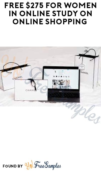 FREE $275 for Women in Online Study on Online Shopping (Must Apply)