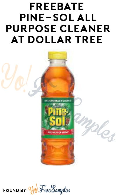 FREEBATE Pine-Sol All Purpose Cleaner at Dollar Tree (Fetch Rewards Required)