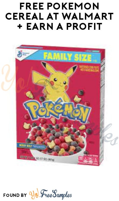 FREE Pokemon Cereal at Walmart + Earn A Profit (Ibotta & Fetch Rewards Required)