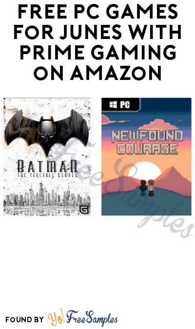 FREE PC Games for Junes with Prime Gaming on Amazon