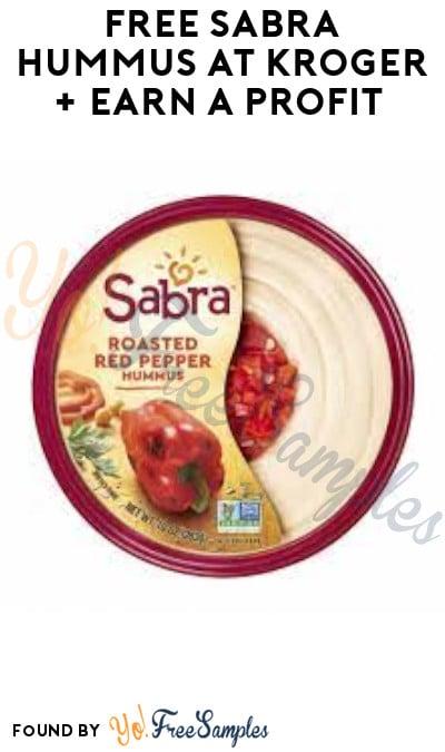 FREE Sabra Hummus at Kroger + Earn A Profit (Ibotta Required)