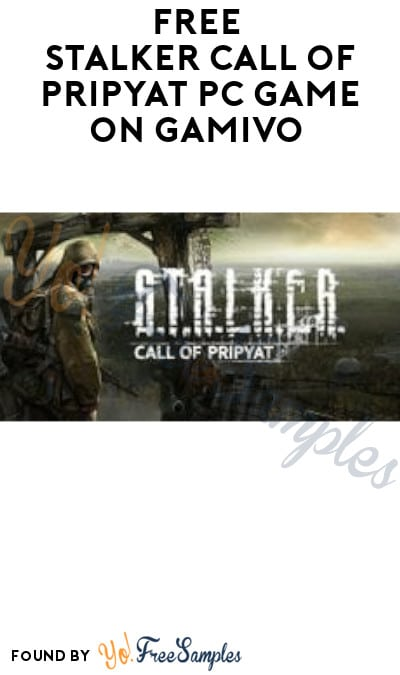 FREE STALKER Call of Pripyat PC Game on Gamivo (Account/ Code Required)