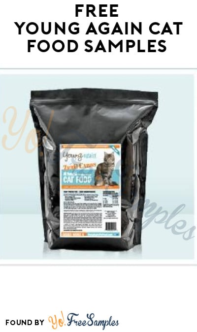 FREE Young Again Cat Food Samples (Email Required)